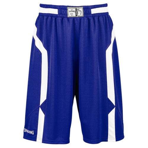 Spalding Offense Shorts - Royal / Blanc