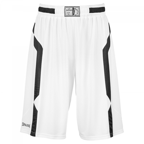 Spalding Offense Shorts - Blanc