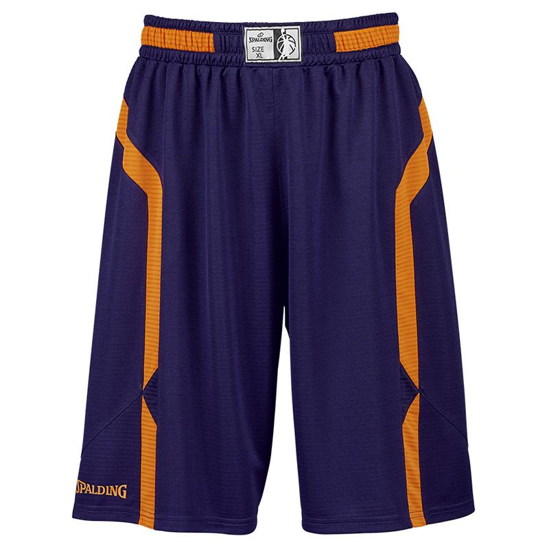 Spalding Offense Shorts - Marine & Orange
