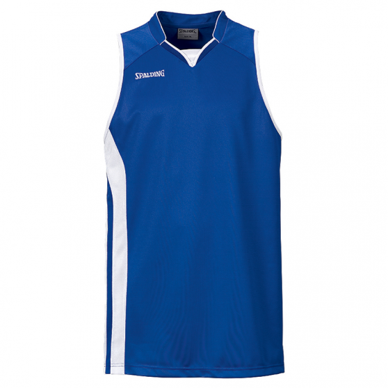 Spalding MVP Tank Top - Bleu royal et blanc