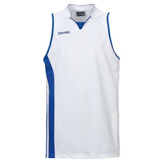 Spalding MVP Tank Top - Blanc & Royal