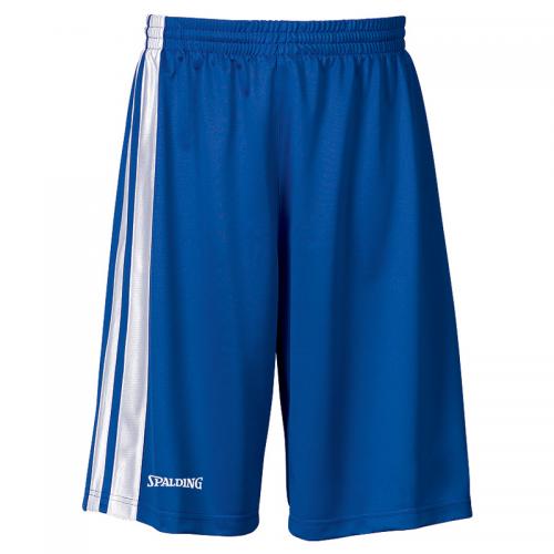 Spalding MVP Shorts - Bleu royal & Blanc