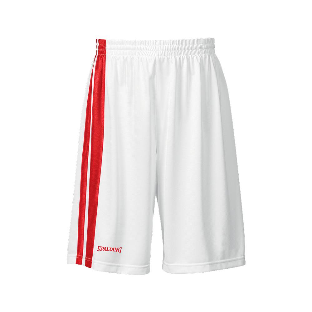 Spalding MVP Shorts - Blanc & Rouge
