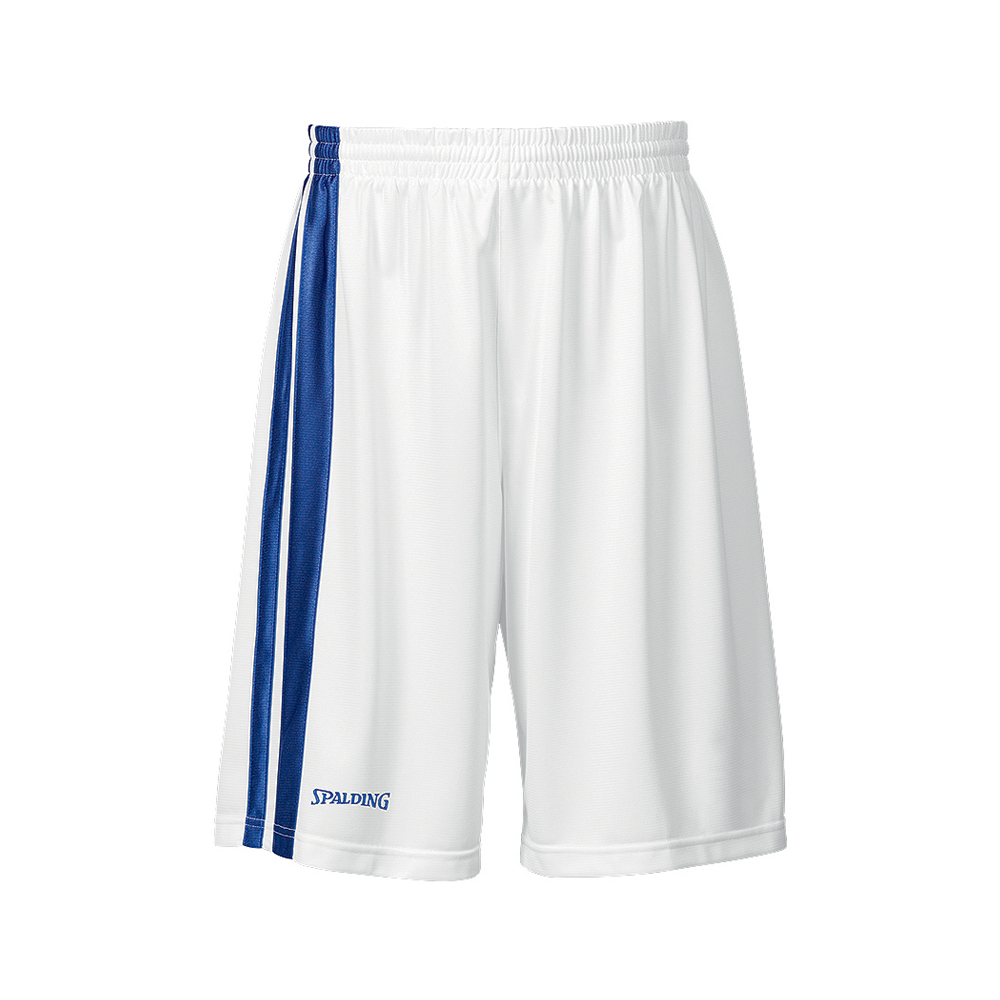 Spalding MVP Shorts - Blanc & Royal