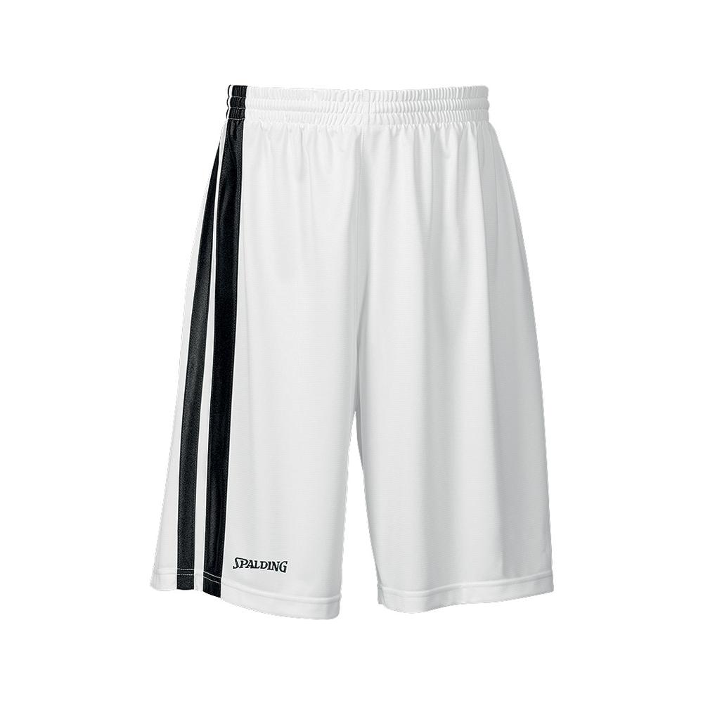 Spalding MVP Shorts - Blanc & Noir