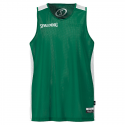Spalding Essential Reversible Shirt - Vert & Blanc