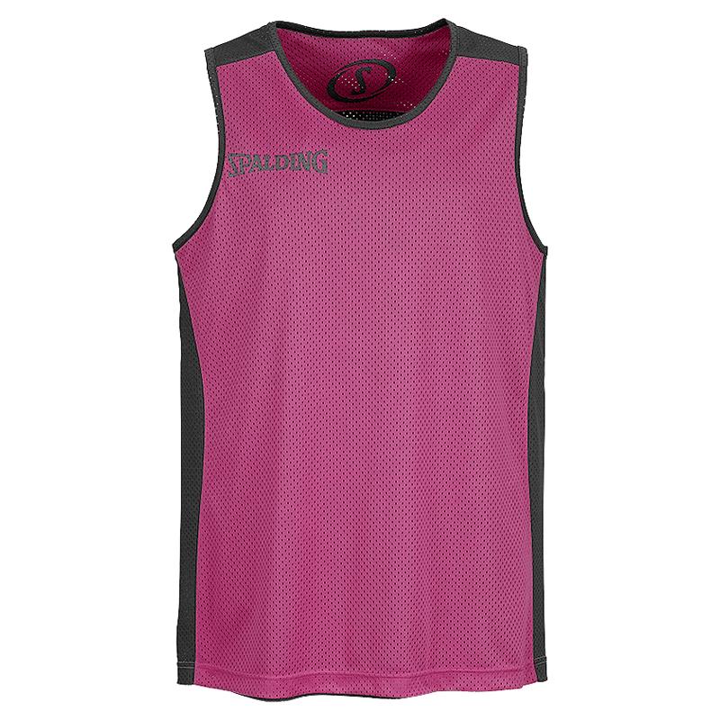 Spalding Essential Reversible Shirt - Rose & Noir