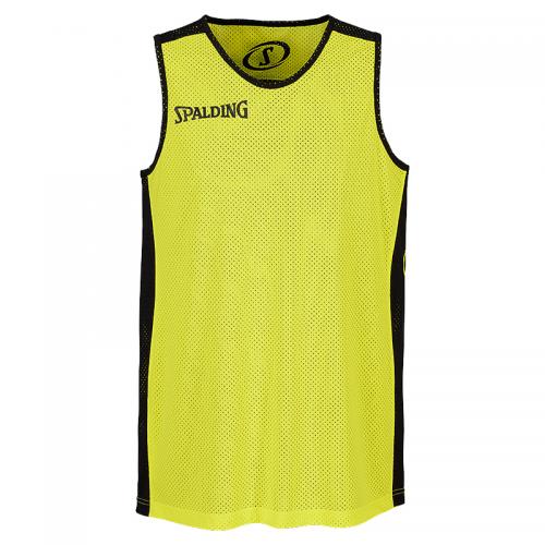 Spalding Essential Reversible Shirt - Jaune & Noir