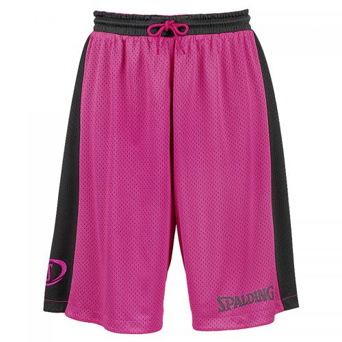 Spalding Essential Reversible Shorts - Rose & Noir