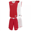 Spalding Double Face Kid Set - Rouge & Blanc