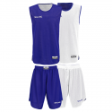 Spalding Double Face Kid Set - Royal & Blanc