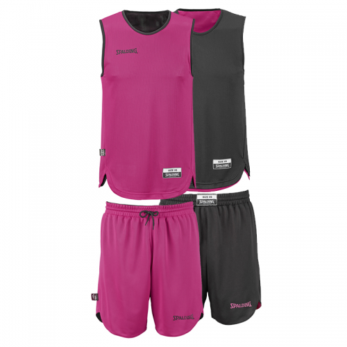 Spalding Double Face Kid Set - Rose & Noir
