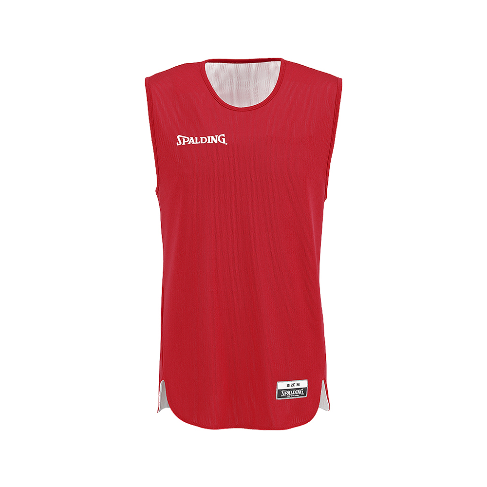 Spalding Double Face Kid Set - Maillot rouge