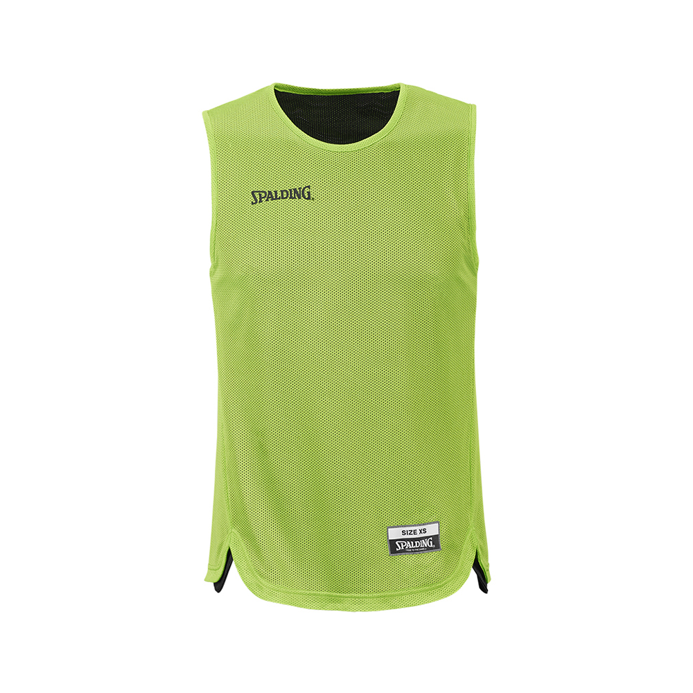 Spalding Double Face Kid Set - Maillot vert fluo