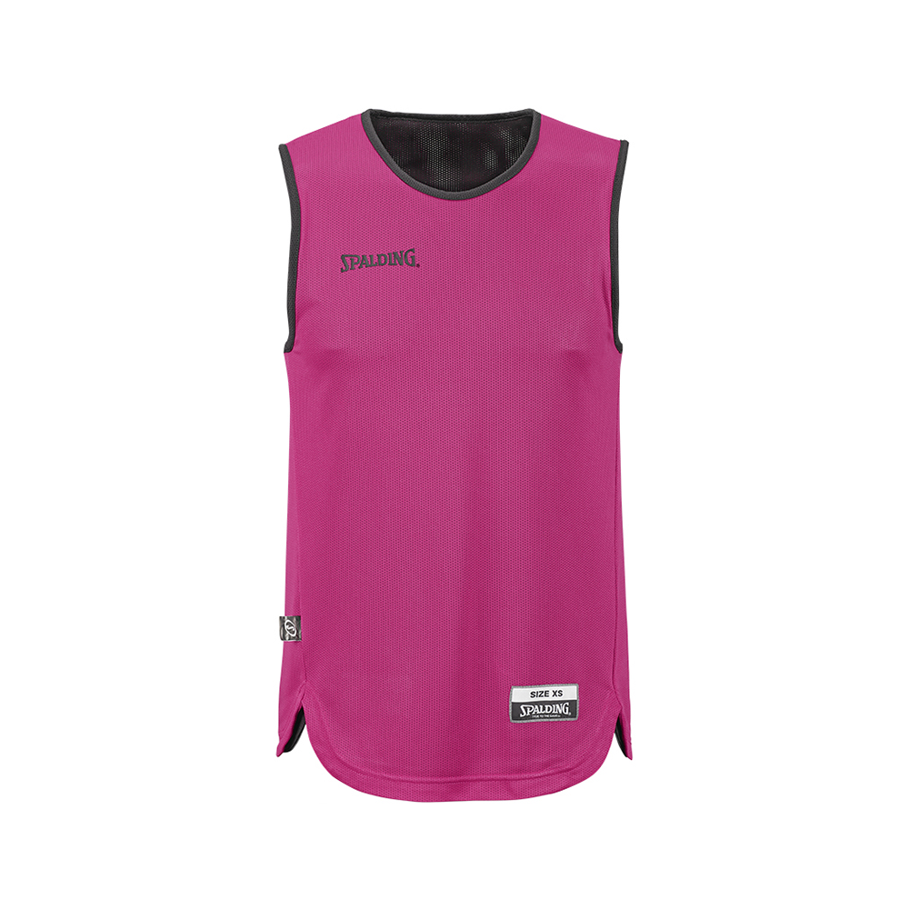 Spalding Double Face Kid Set - Maillot rose