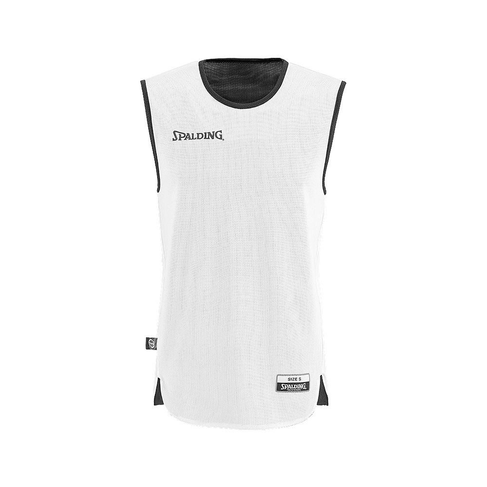 Spalding Double Face Kid Set - Maillot blanc