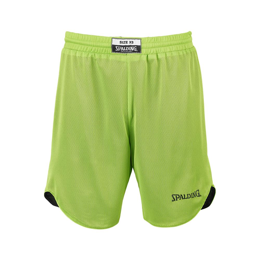 Spalding Double Face Kid Set - Short vert fluo