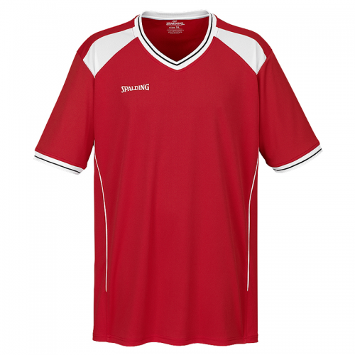 Spalding Crossover Shooting Shirt - Rouge