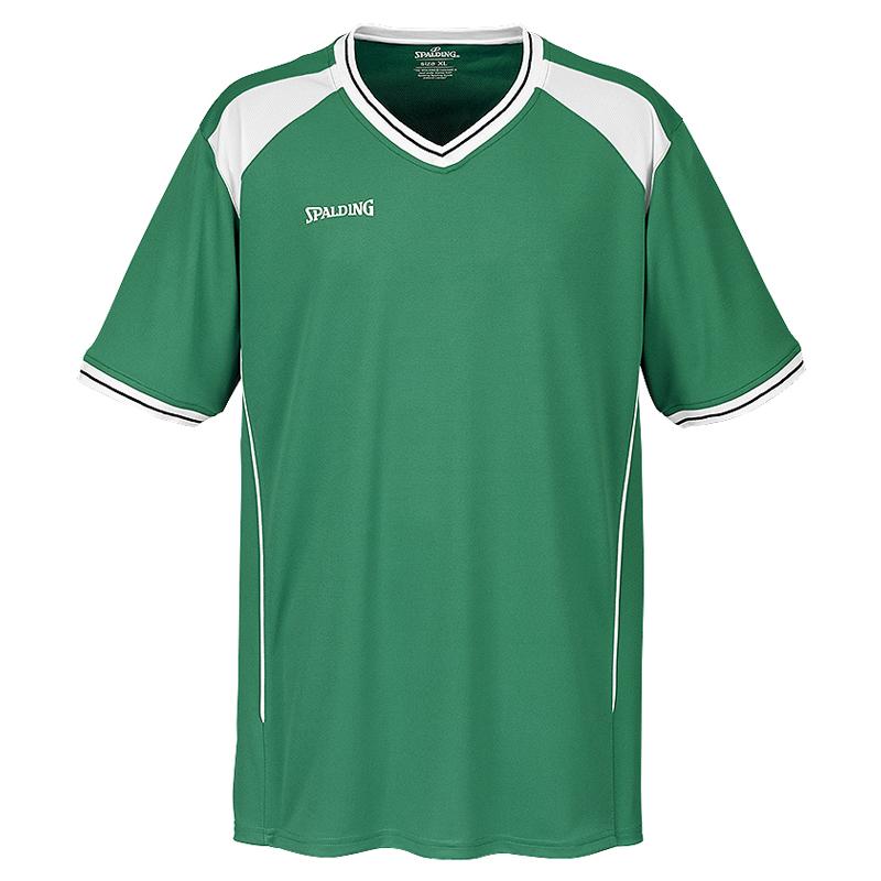 Spalding Crossover Shooting Shirt - Vert