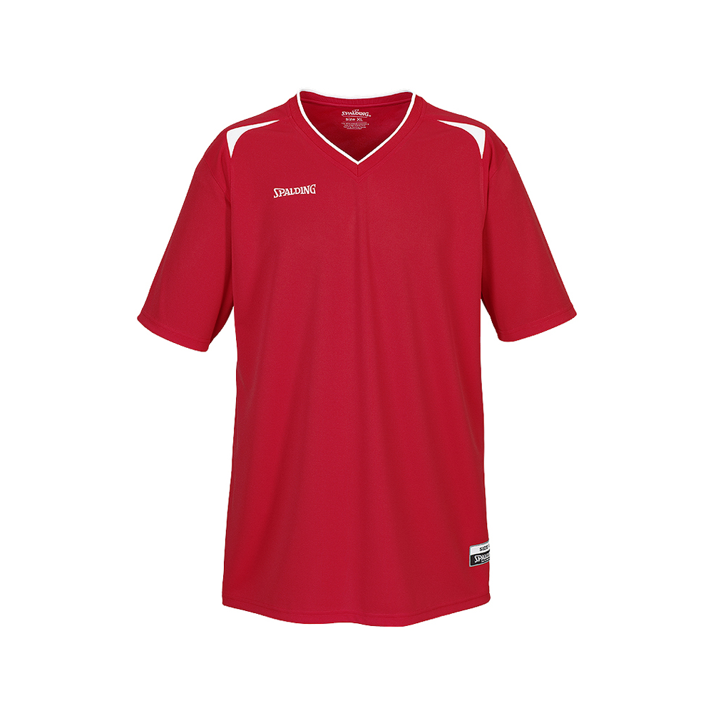 Spalding Attack Shooting Shirt - Rouge