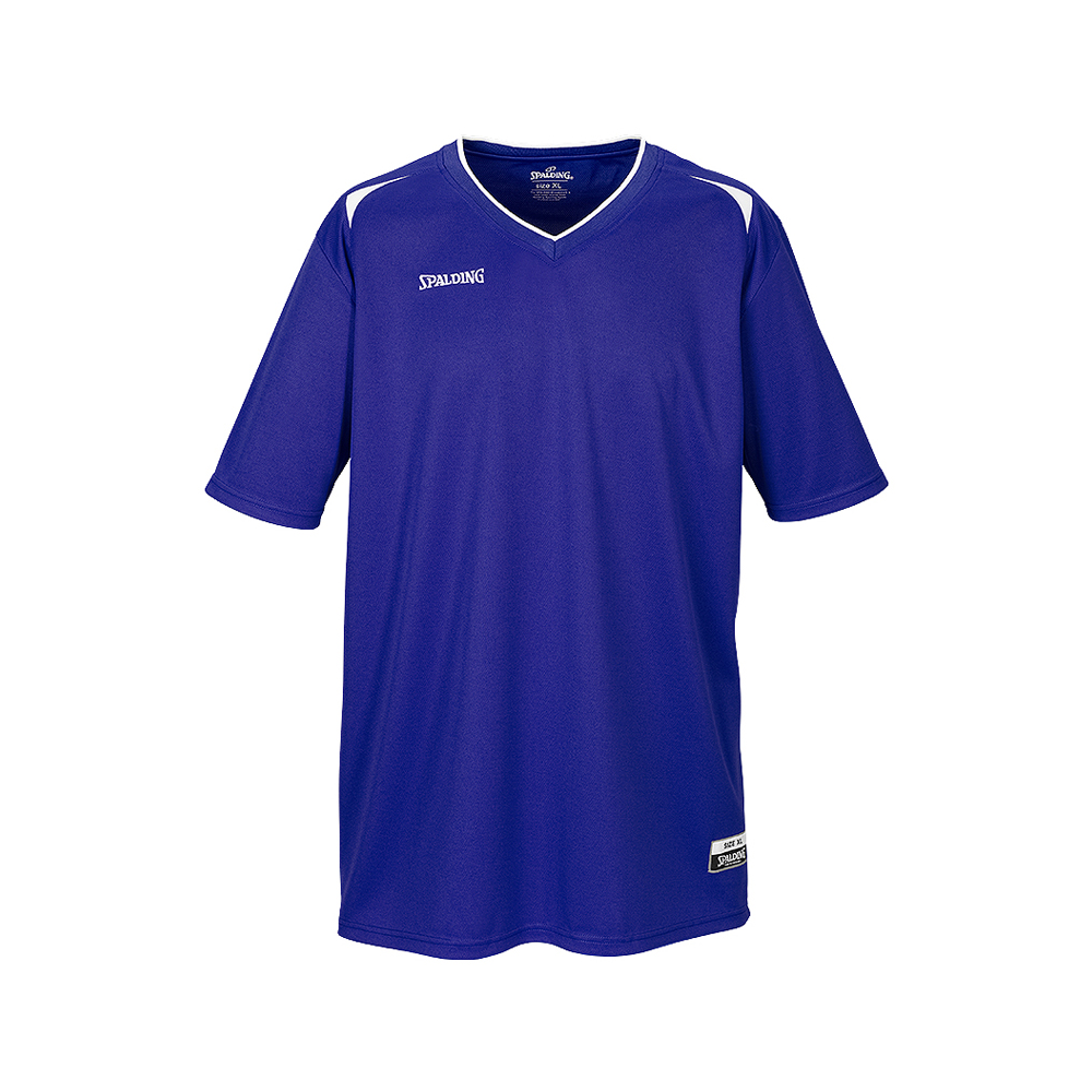 Spalding Attack Shooting Shirt - Royal