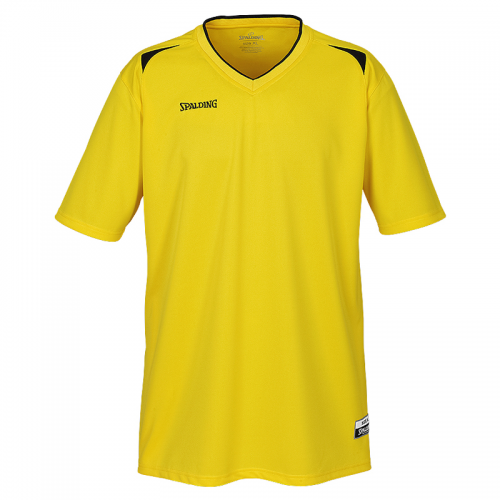 Spalding Attack Shooting Shirt - Jaune