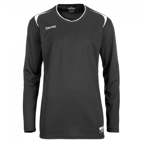 Spalding Attack Shooting Shirt LS - Noir