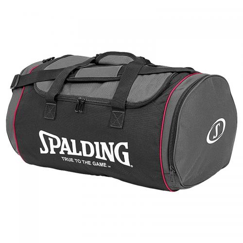 Spalding Tube Sportsbag M - Noir & Rose