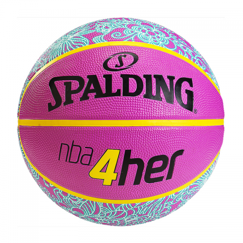 Spalding 4Her Ball - Rose & Bleu