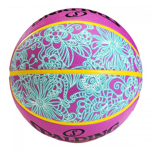Spalding 4Her Ball - Rose & Bleu - Dos