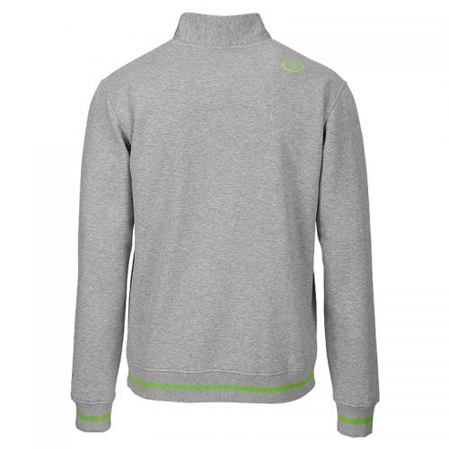 Spalding Team Zipper Jacket - Gris & Vert - Dos