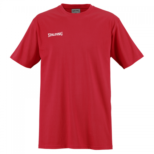 Spalding Basic Tee - Rouge