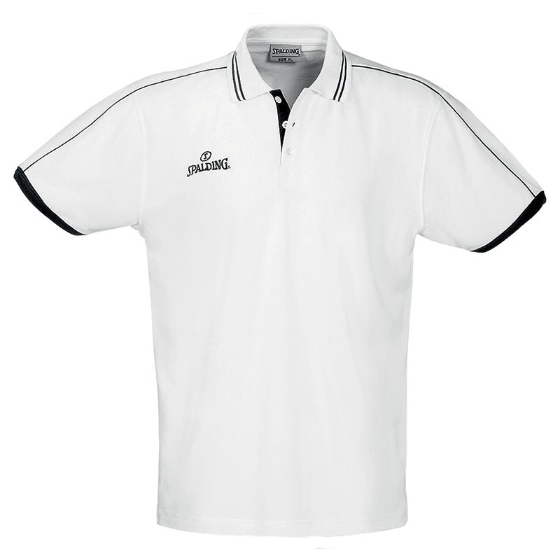 Spalding Polo Shirt - Blanc
