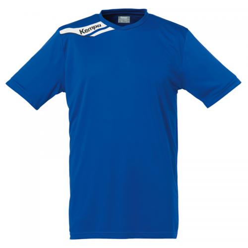 Kempa Offense Shirt - Royal & Blanc