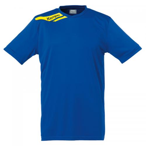 Kempa Offense Shirt - Royal & Jaune