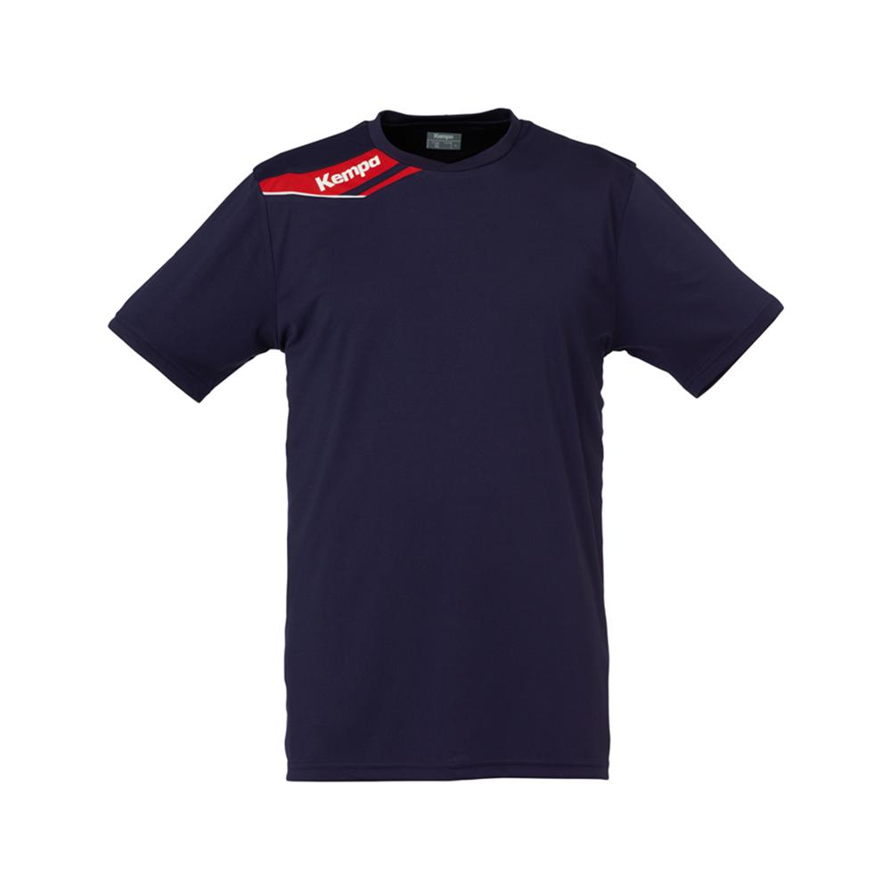 Kempa Offense Shirt - Marine & Rouge