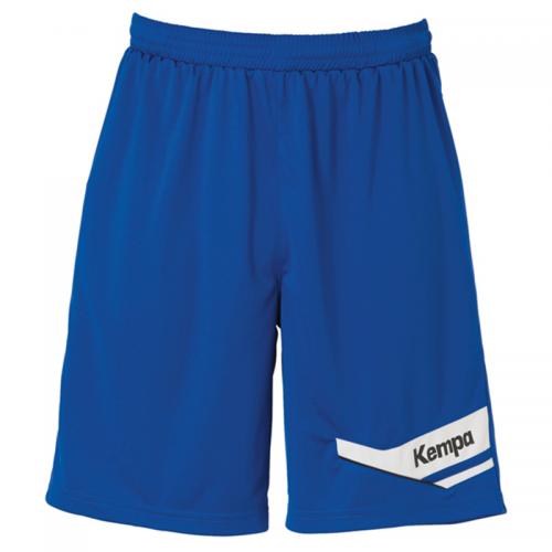 Kempa Offense Shorts - Royal & Blanc