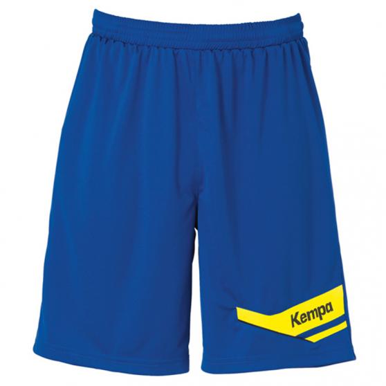 Kempa Offense Shorts - Royal & Jaune
