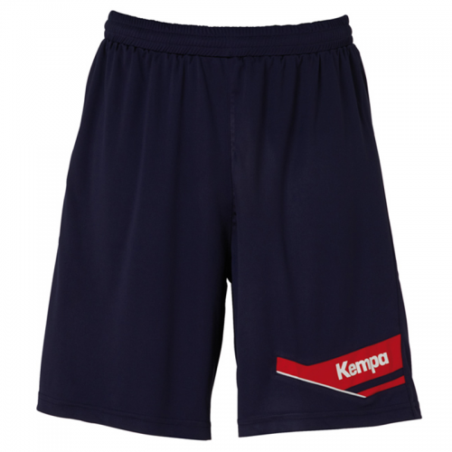 Kempa Offense Shorts - Marine & Rouge