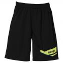Kempa Offense Shorts - Noir & Jaune Fluo
