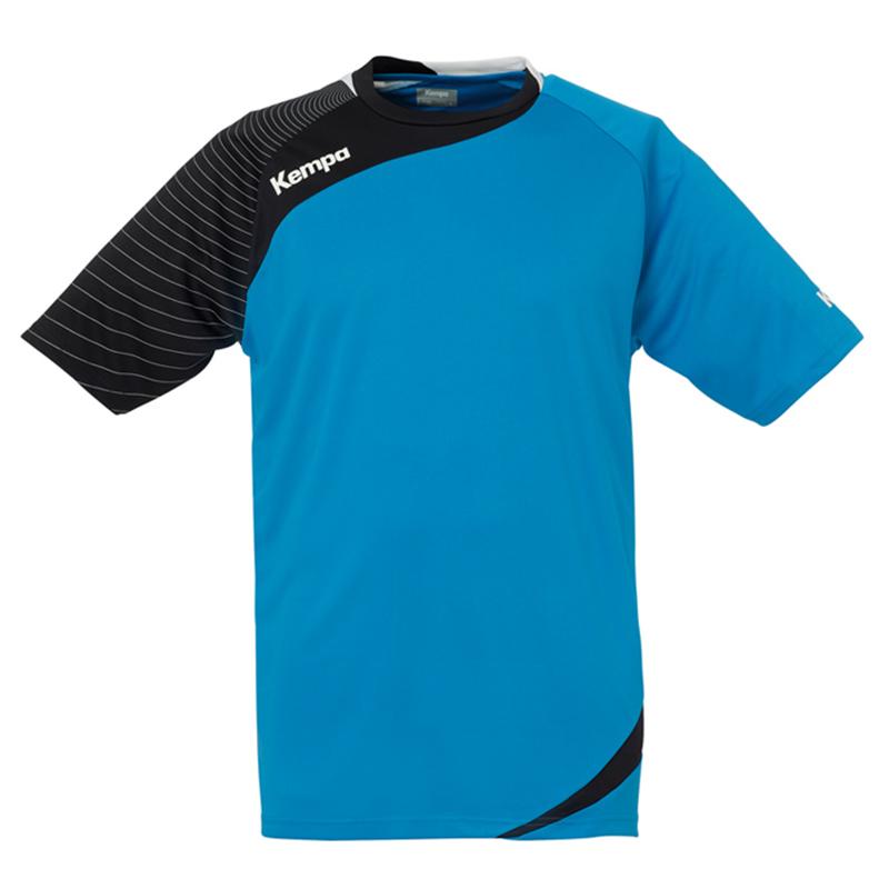 Kempa Circle Shirt Men - Bleu Kempa et noir