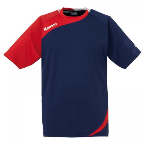Kempa Circle Shirt Men - Marine & Rouge