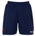 Kempa Circle Shorts - Marine & Rouge