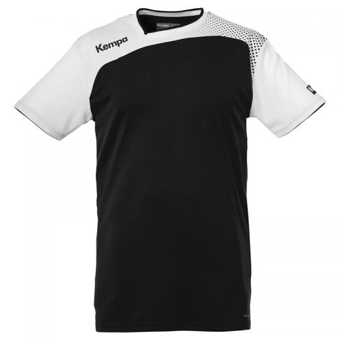 Kempa Emotion Shirt - Noir & Blanc
