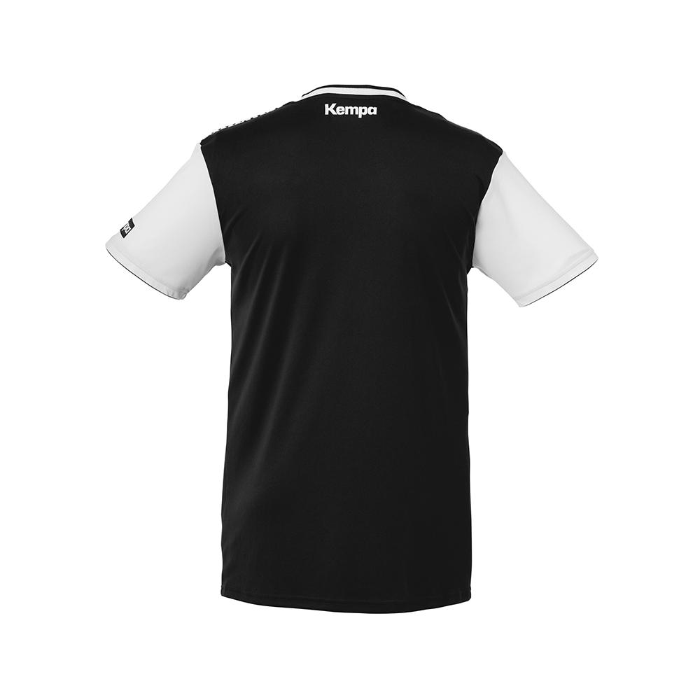 Kempa Emotion Shirt - Noir & Blanc - Vue de dos