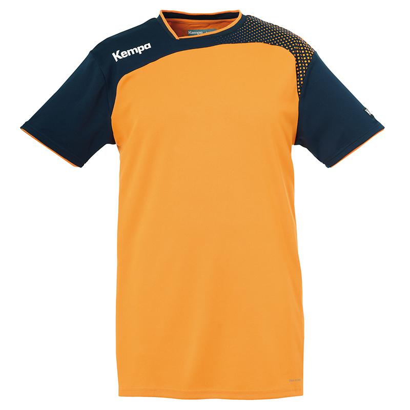 Kempa Emotion Shirt - Orange & Marine