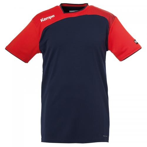 Kempa Emotion Shirt - Marine & Rouge