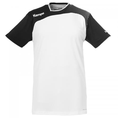 Kempa Emotion Shirt - Blanc & Noir