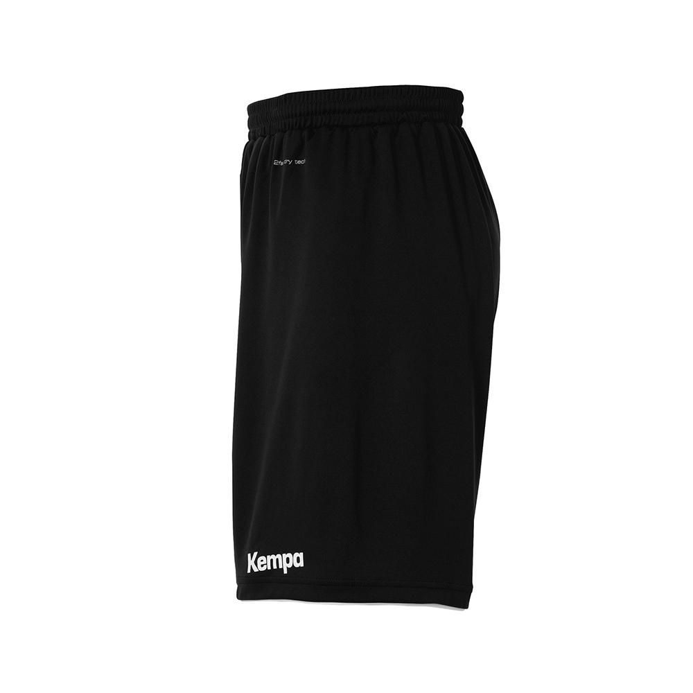 Kempa Emotion Shorts - Noir & Blanc - Vue de côté