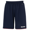 Kempa Emotion Shorts - Marine & Rouge